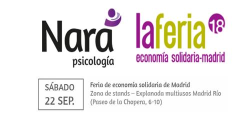 Feria Economía Solidaria Madrid 2018