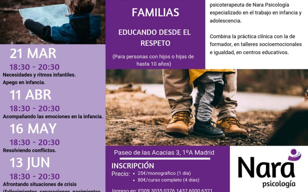 Escuela de familias: Educando desde el respeto