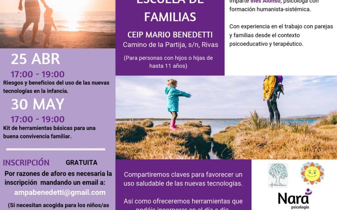 Escuela de familias: CEIP Mario Benedetti
