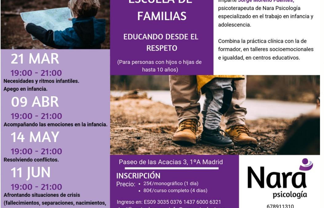 Escuela de familias: educando desde el respeto. Módulo 4