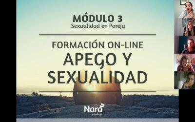 Módulo 3 – Formación Online – APEGO Y SEXUALIDAD